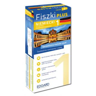 Niemiecki Fiszki PLUS dla średnio zaawansowanych 1  (600 fiszek + program i nagrania do pobrania + kolorowe przegródki + etui)