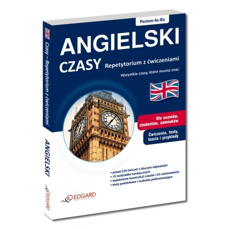 Angielski Czasy Repetytorium z ćwiczeniami (Książka)
