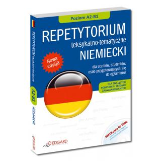 NIEMIECKI Repetytorium leksykalno-tematyczne dla znających podstawy i średnio zaawansowanych (Książka + CD AUDIO)