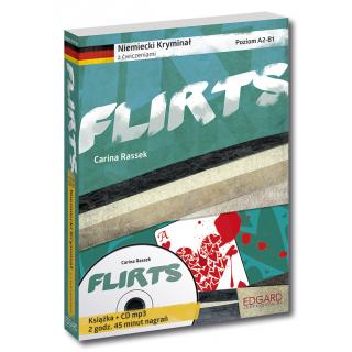 Niemiecki KRYMINAŁ z ćwiczeniami + audiobook Flirts NOWE WYDANIE