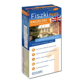 Angielski Fiszki PLUS dla zaawansowanych 1 (600 fiszek + program i nagrania do pobrania + kolorowe przegródki + etui)