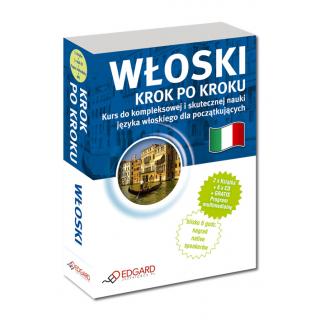 Włoski Krok po kroku (2 x Książka + 5 x CD Audio + MP3 + Program komputerowy)