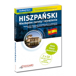 Hiszpański Niezbędne zwroty i wyrażenia - Nowa Edycja (Książka + 2 x Audio CD)