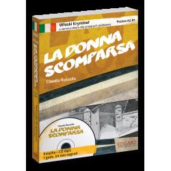 Włoski KRYMINAŁ z samouczkiem + audiobook La donna scomparsa