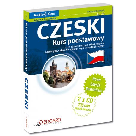 Czeski Kurs podstawowy - Nowa Edycja (Książka + 2 x Audio CD)