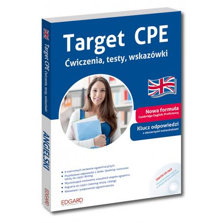 Target CPE Ćwiczenia, testy, wskazówki (Książka +CD mp3)