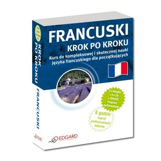 Francuski Krok po kroku (2 x książka + 5 x CD Audio + MP3 z programem multimedialnym)